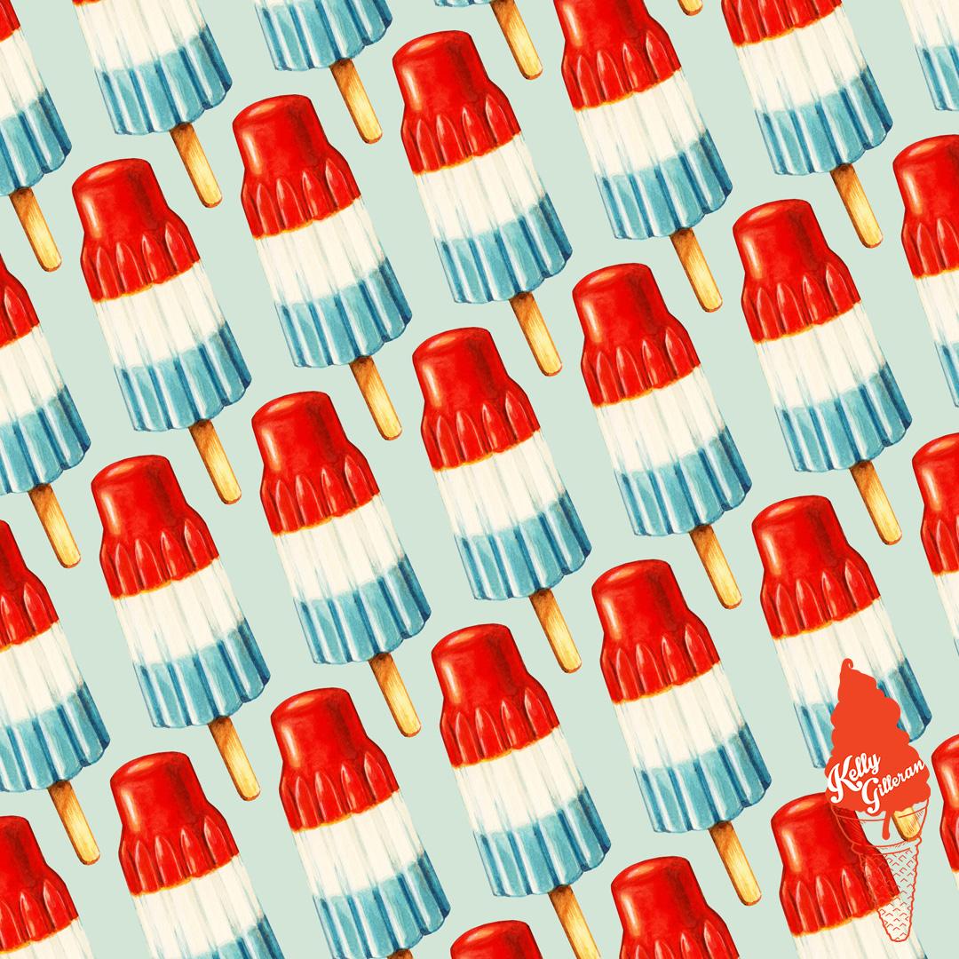 """Bomb Pop Pattern"" 2014."