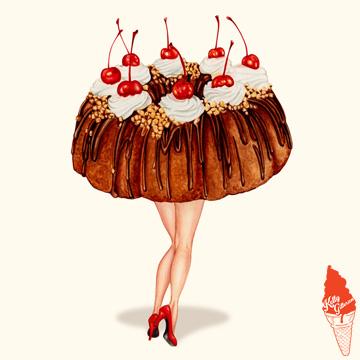 """""""Hot Cakes: Bundt II"""" 2017."""