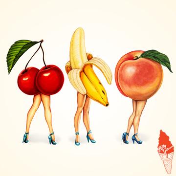 """Fruit Stand - Trio"" 2016."