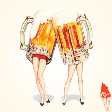"""""""Cheers! Beer Girls"""" 2019."""