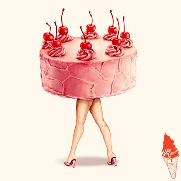 """""""Hot Cakes - Cherry"""" 2015."""