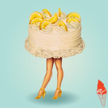"""""""Cake Walk: Lemon"""" 2014."""