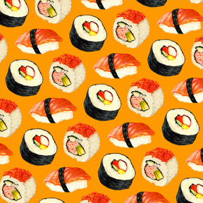 Sushi - Orange