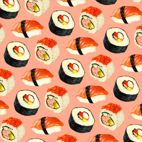 Sushi - Pink