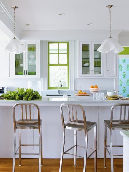 Greenery window frame