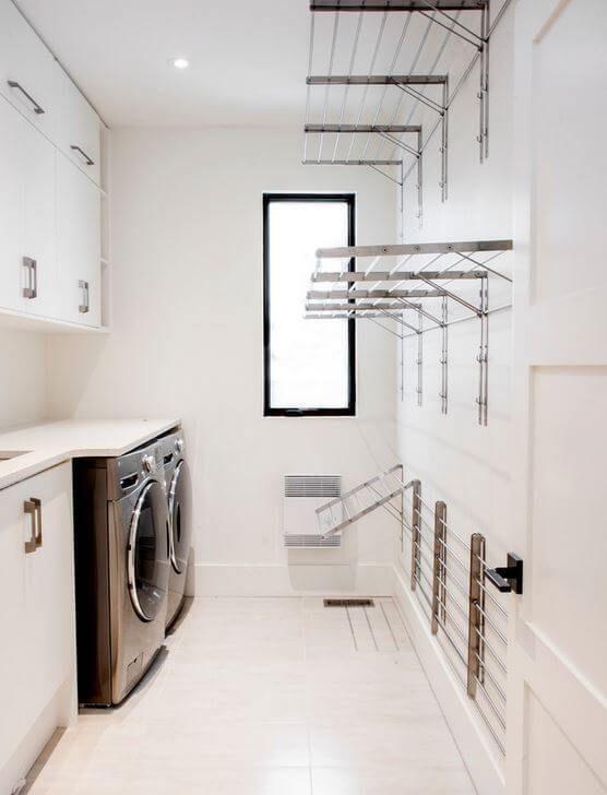 Stylish Laundry Hanging Rails That I Wish Were Mine Verity Jayne