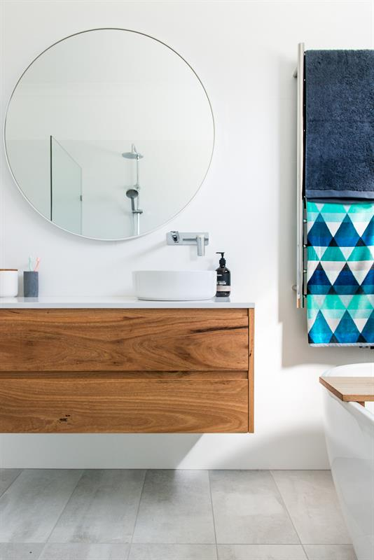 Another timber vanity by  Loughlin Furniture . I'm not sure if you've noticed, but I do adore their work :)