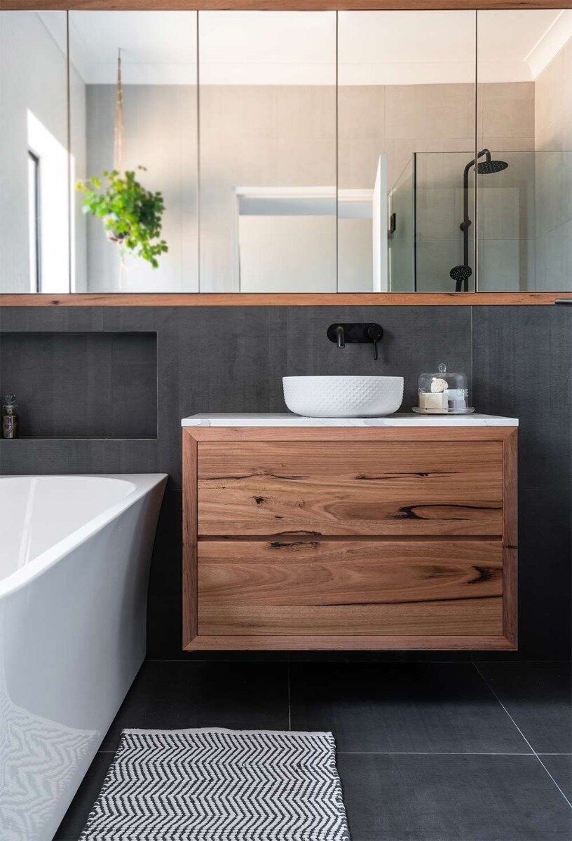 Timber Vanities You Ll Adore This Is How To Design Them Including Free Cad Drawings Verity Jayne