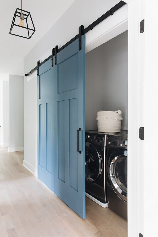 Discover The Best Doors For Your Small Laundry Alcove Verity Jayne
