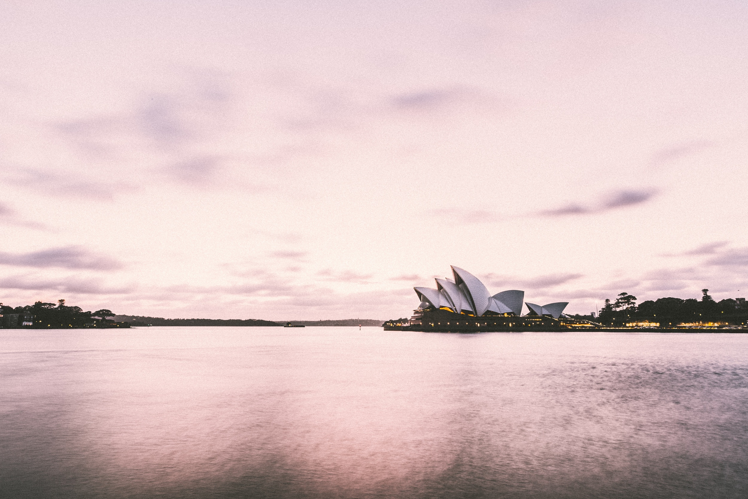 Sydney Opera House every day during your commute?