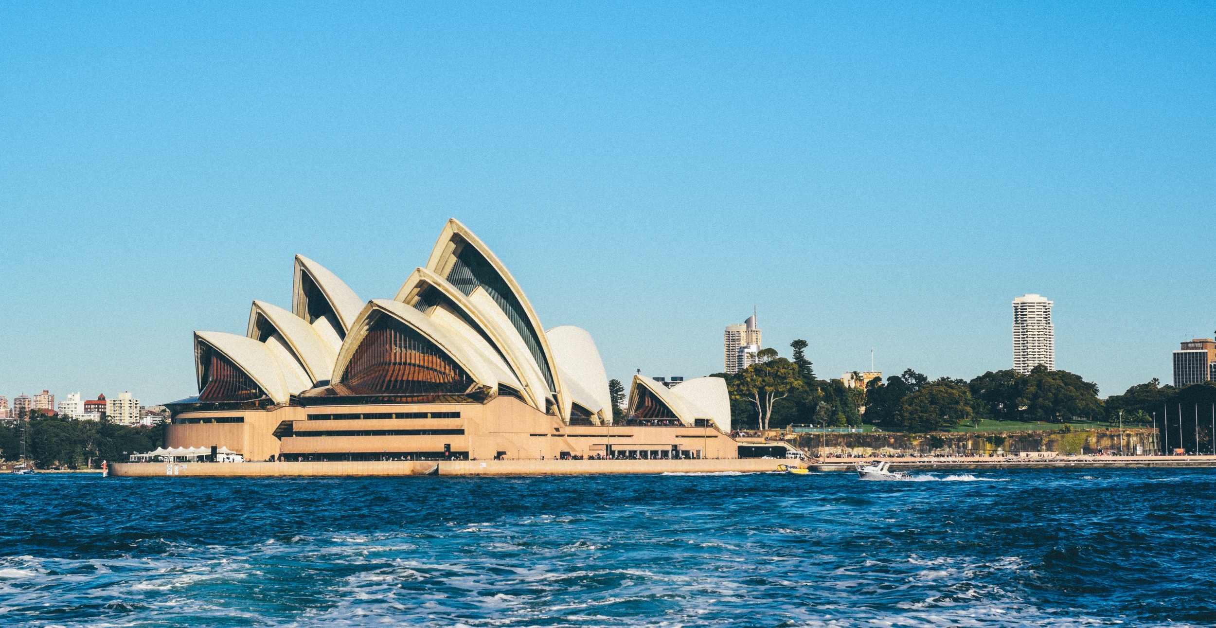 Watch the Sydney Opera House from your ferry ride home