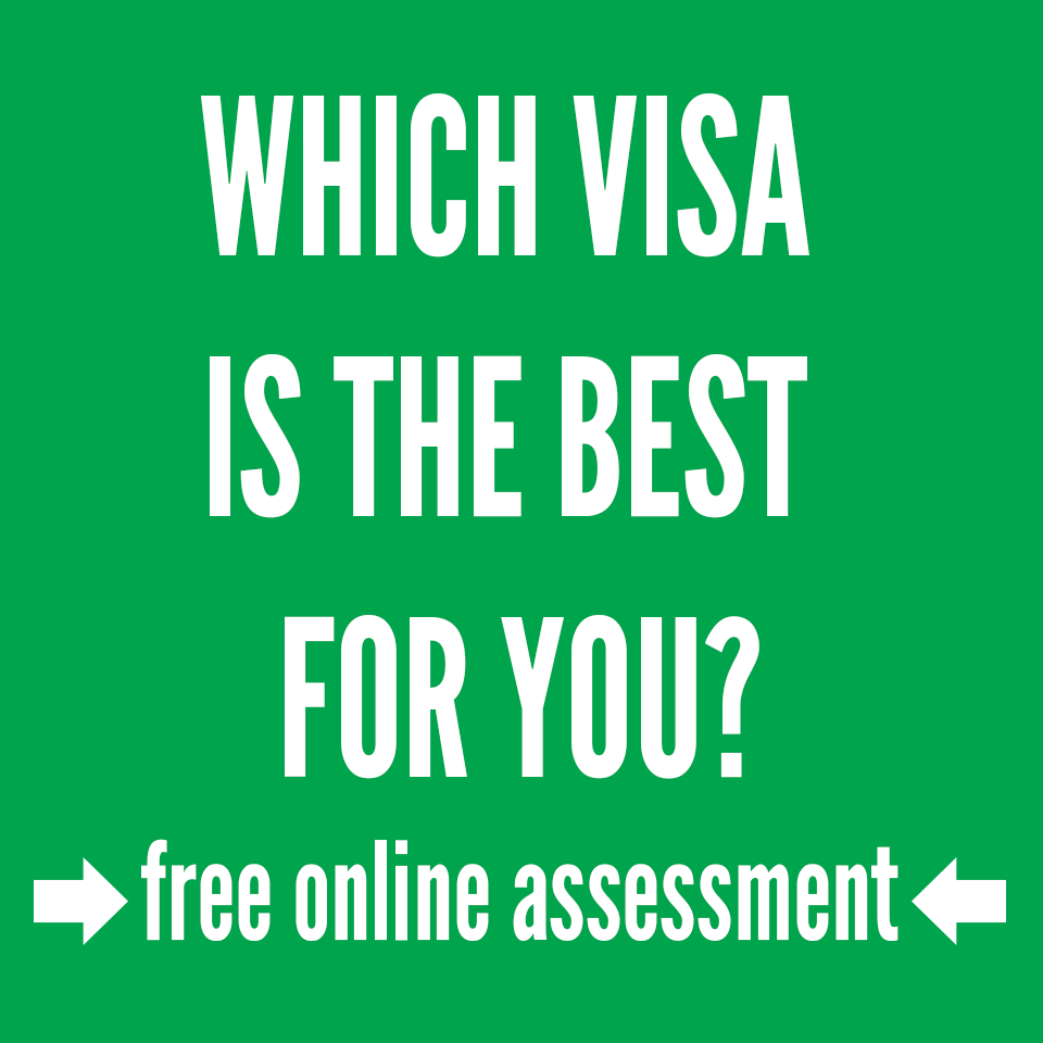 Which visa is made for your situation?