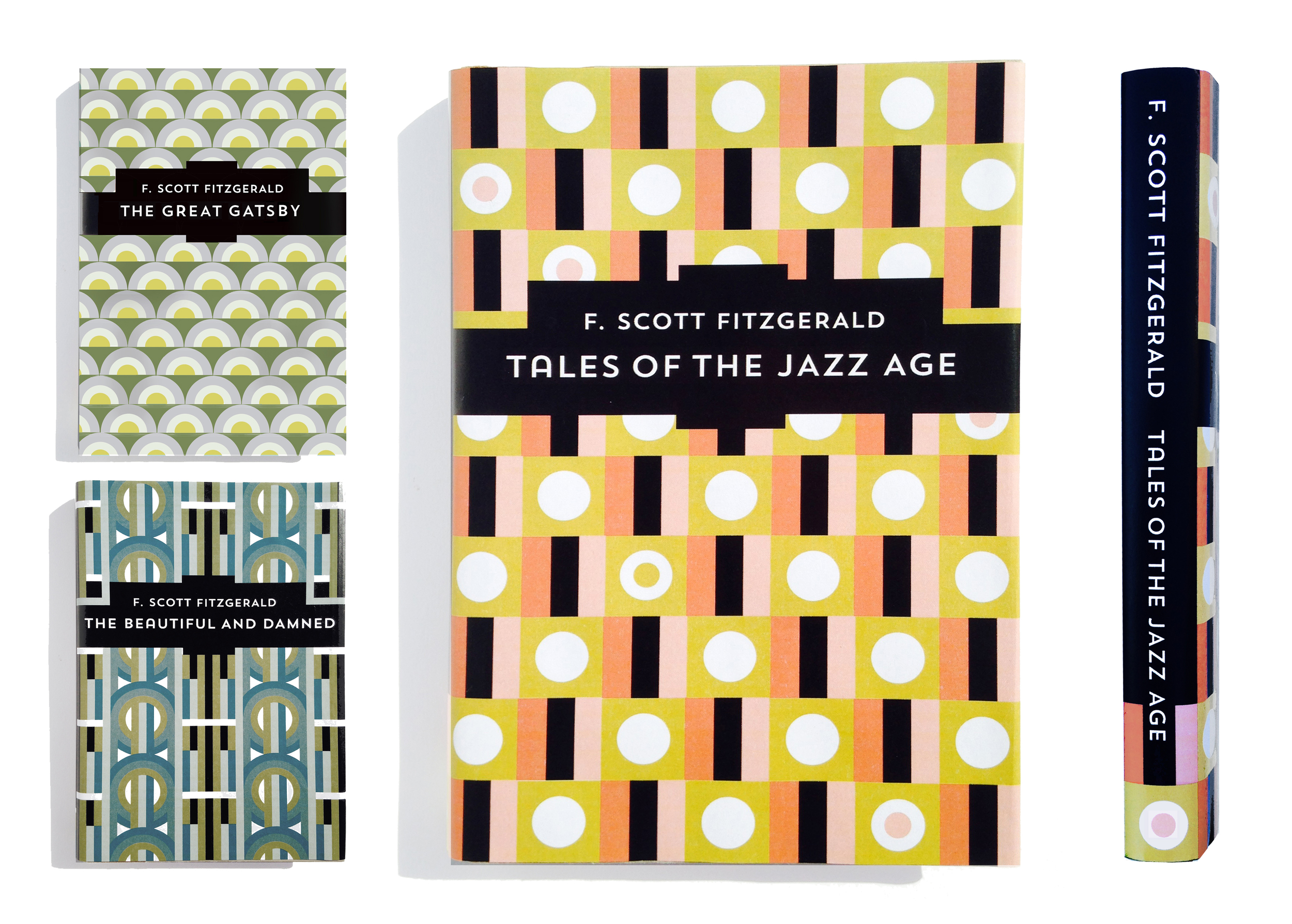 F. Scott Fitzgerald book jacket designs