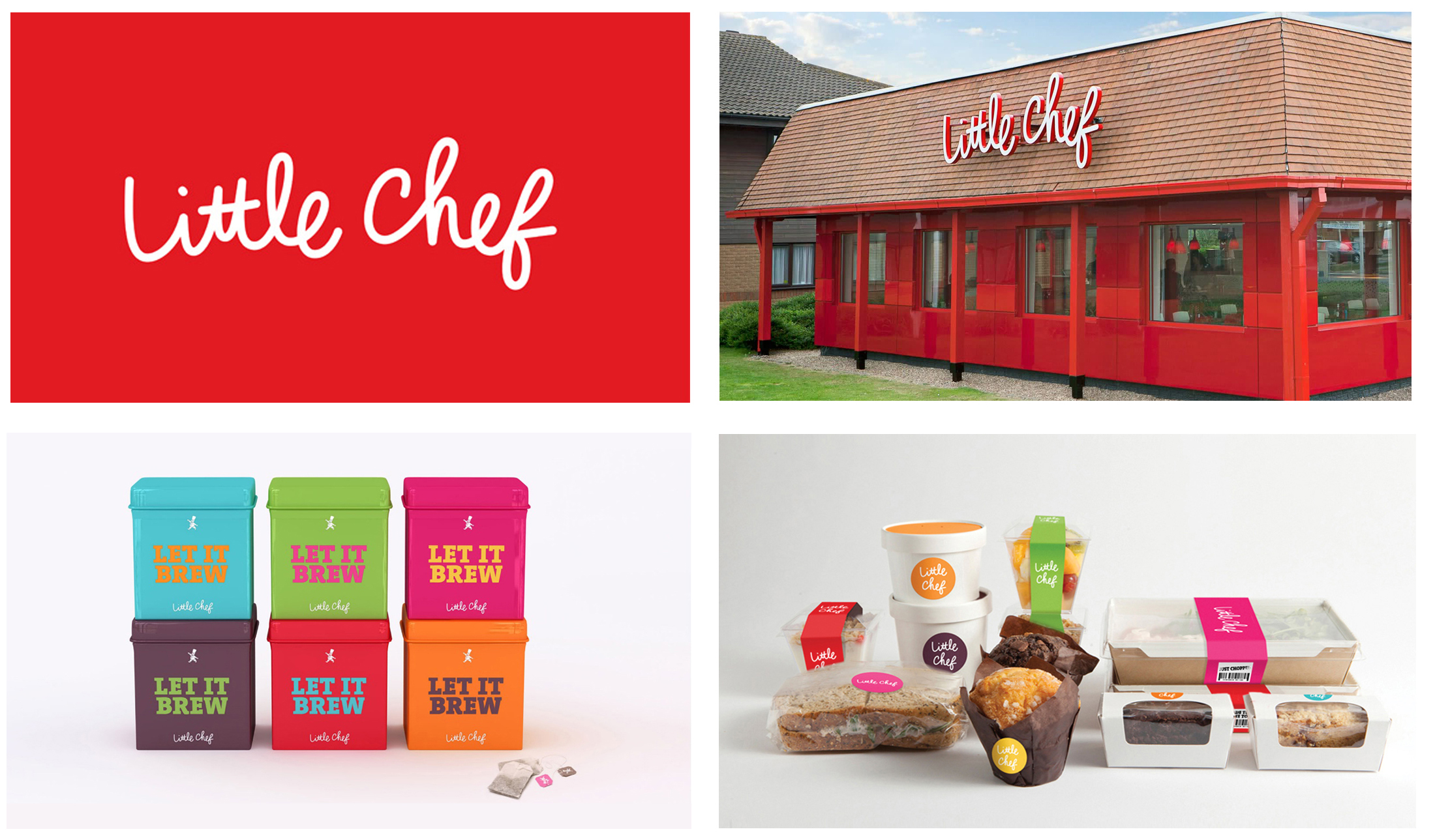 Logotype for Little Chef with Venture Three design