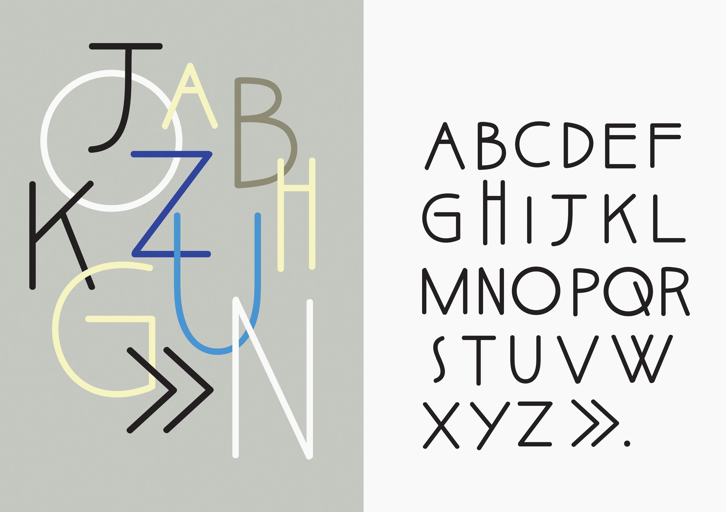 Chejos font