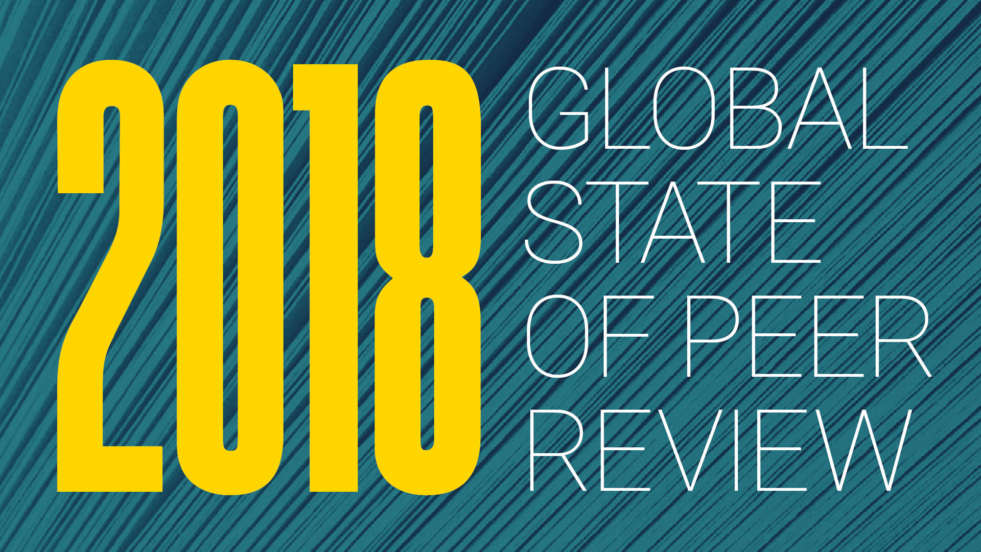GLOBAL STATE OF PEER REVIEW    What does the peer review landscape look like today? Is it getting better or worse? And who's actually doing all the peer review, anyway?   Learn more