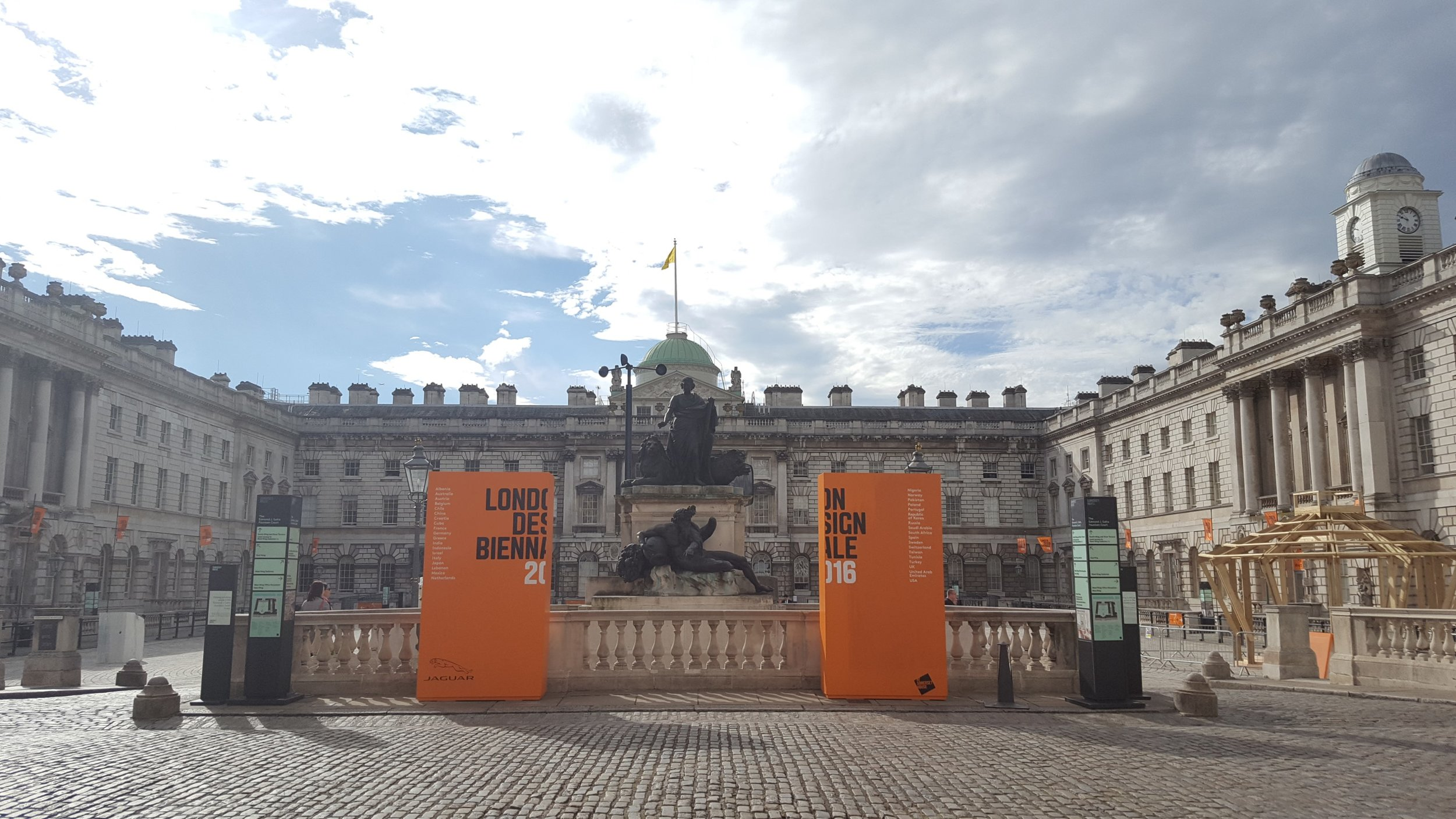 London Design Biennale held at Somerset House this year