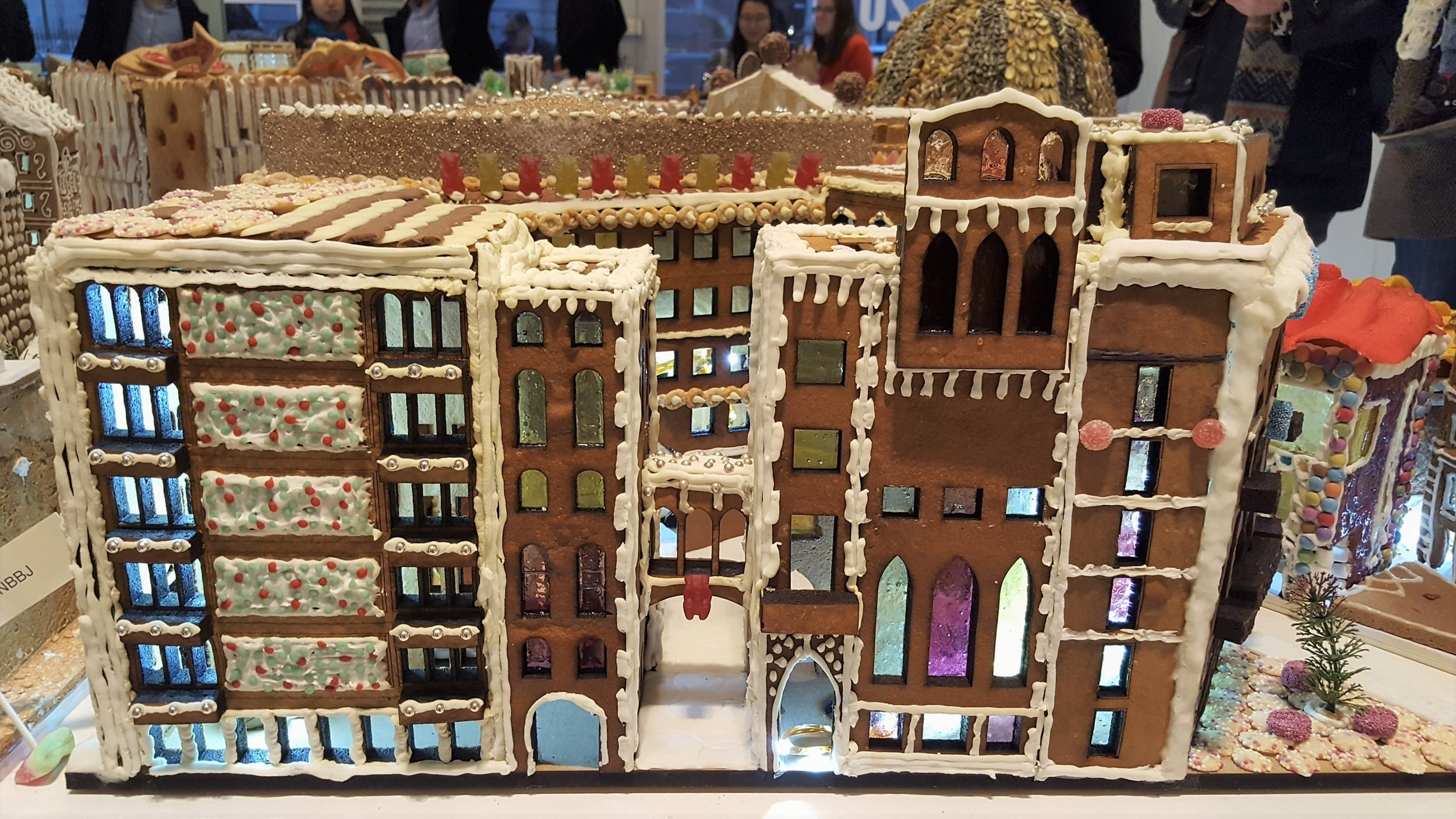 The MoA winner of The Gingerbread City 2016 and most voted by visitors is   NBBJ  !