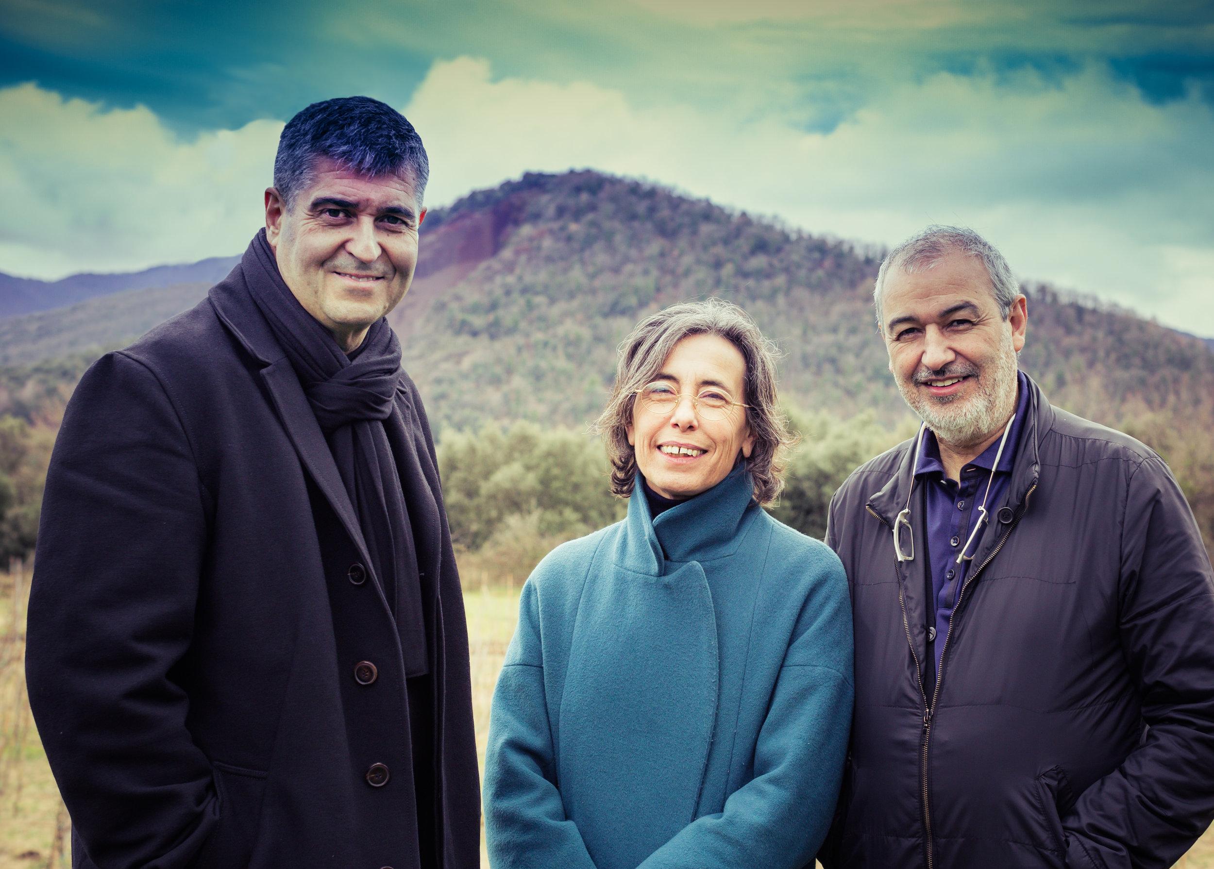 Rafael Aranda, Carme Pigem and Ramon Vilalta