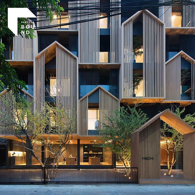 • Hachi Serviced Apartment by Octane architect & design // @bangkokbound °° Free entry to Bangkok's best buildings 14th - 15th Dec 2019, 10:00 - 16:00 #Bangkok #Thailand • More info at www.bound.events and  @bangkokbound