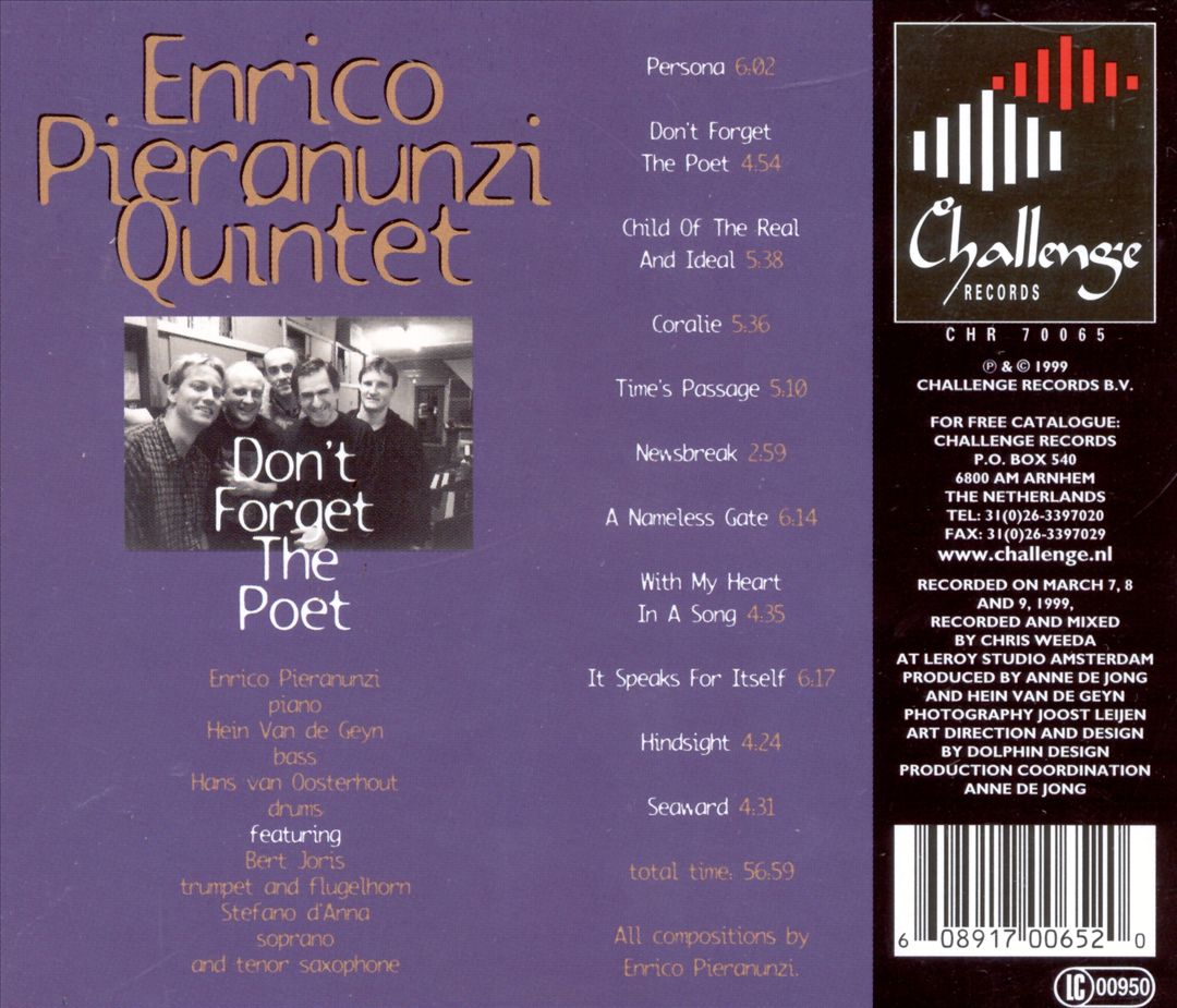 Edition 1999 back cover