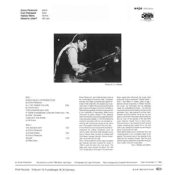 Back cover 1985