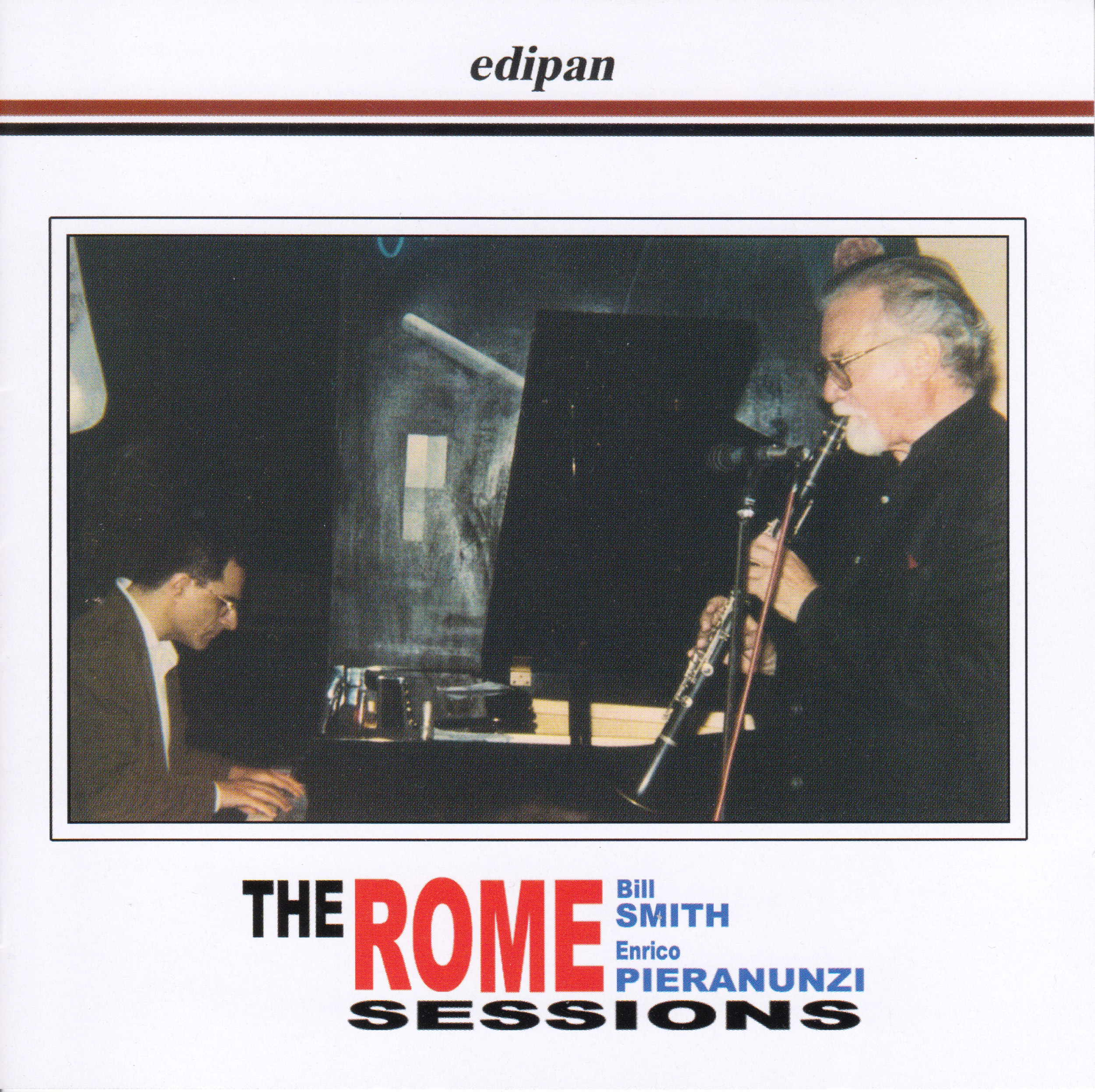 THE ROME SESSIONS PIERANUNZI SMITH CD FRONT