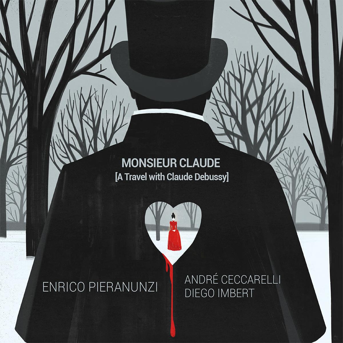 MONSIEUR CLAUDE CD COVER - ENRICO PIERANUNZI