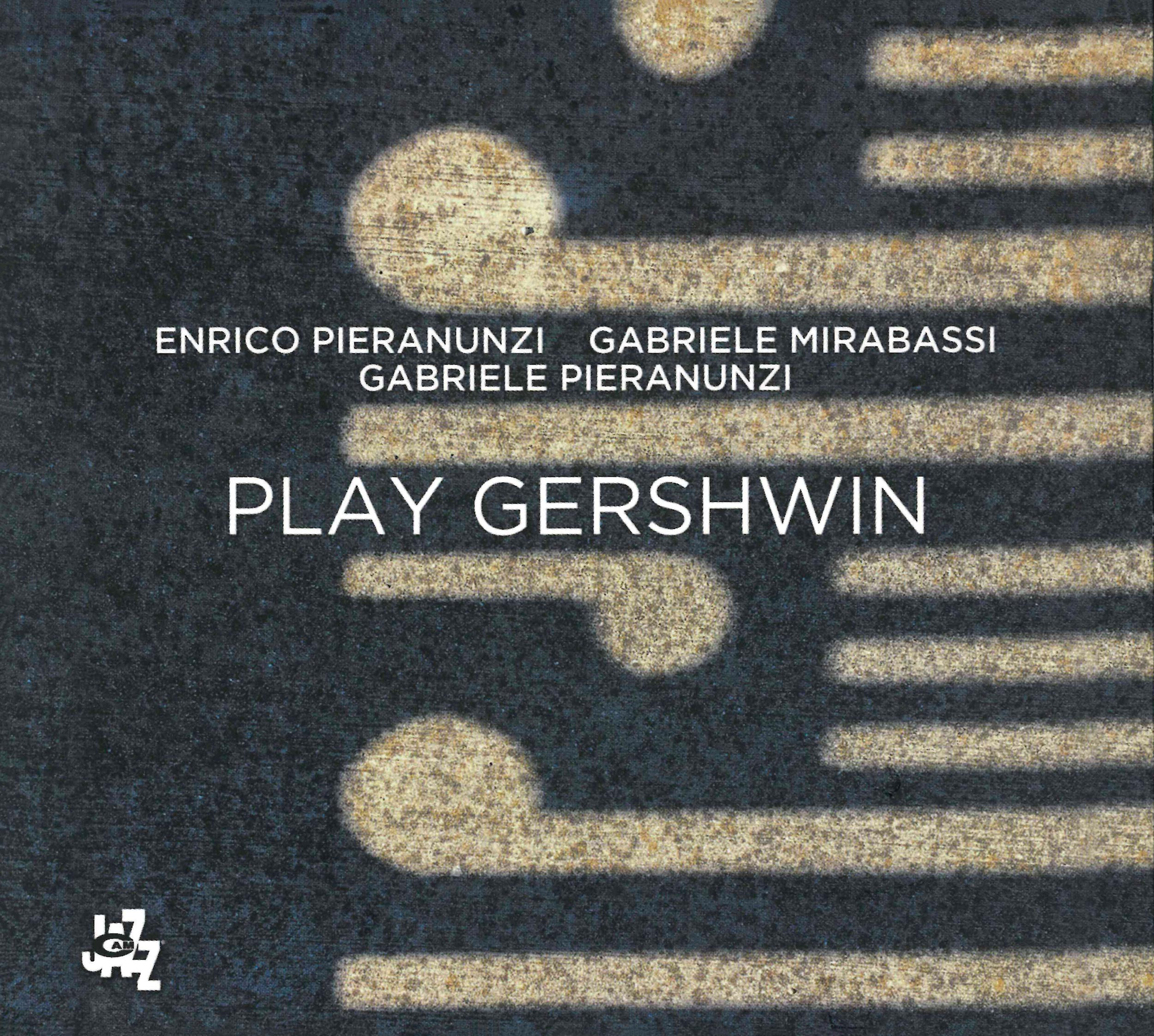 PLAY GERSHWIN CD COVER - ENRICO PIERANUNZI