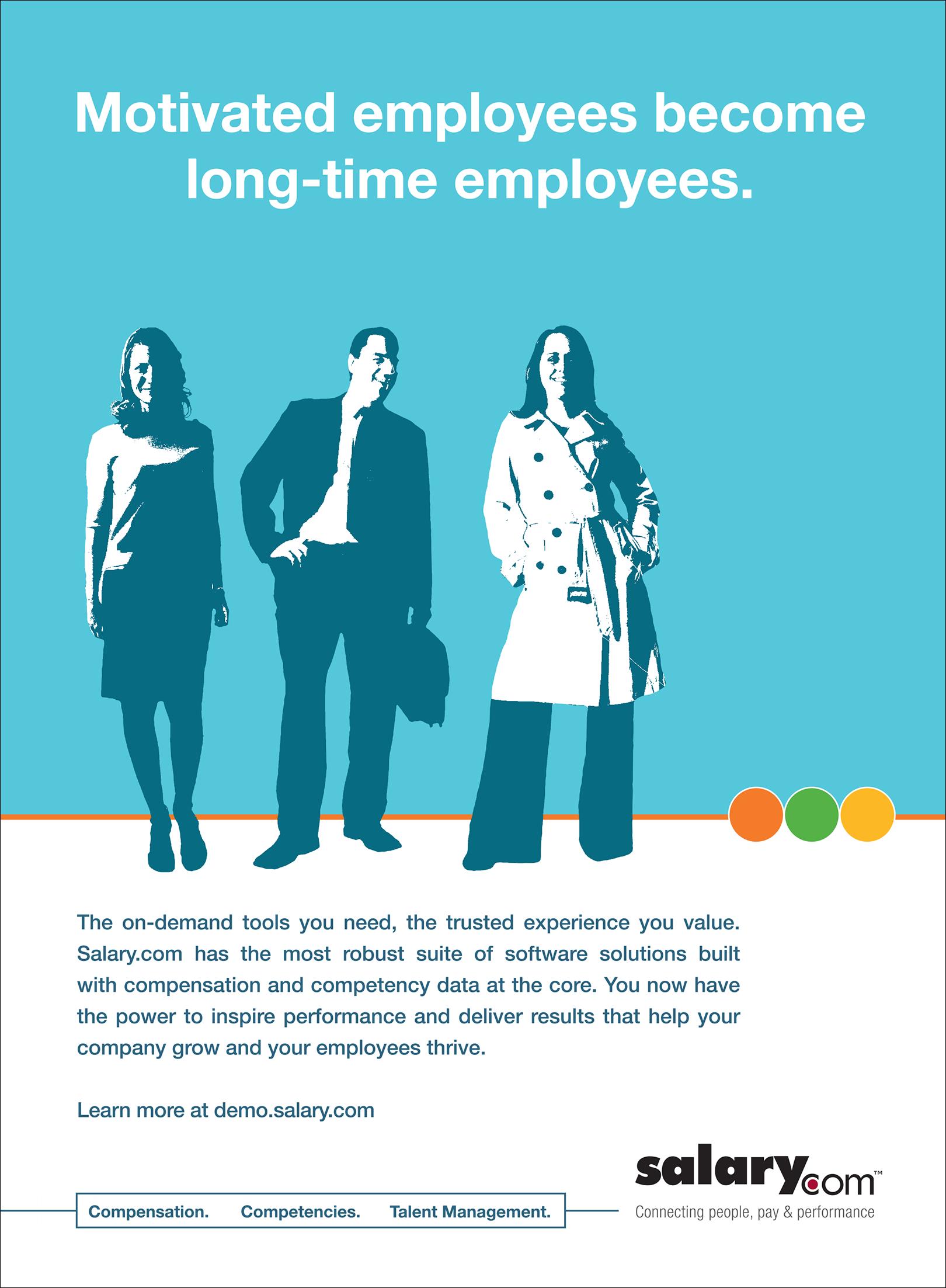 Print Ad for Salary.com