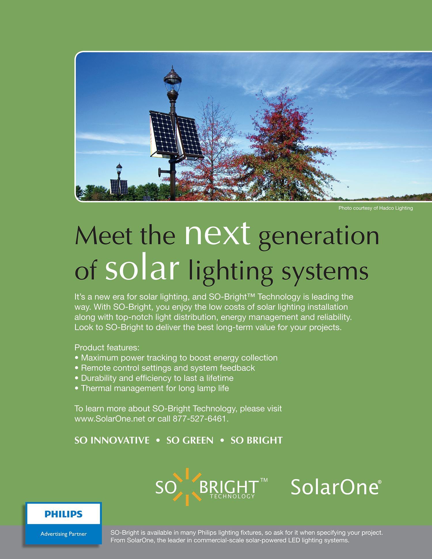 Print Ad for SolarOne