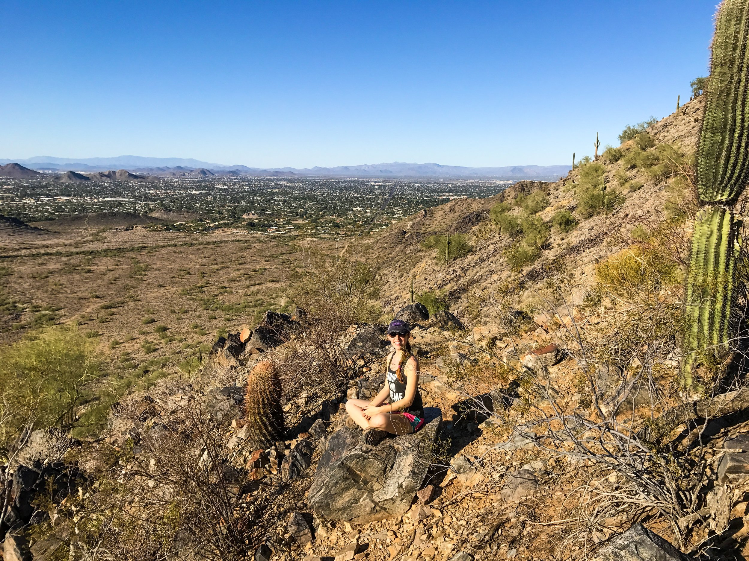 Phoenix Mountains Preserve in Phoenix, AZ