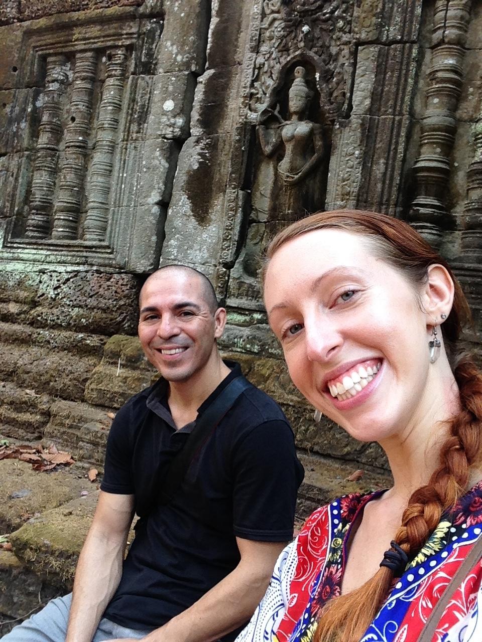 Ta Nei in Angkor, Cambodia