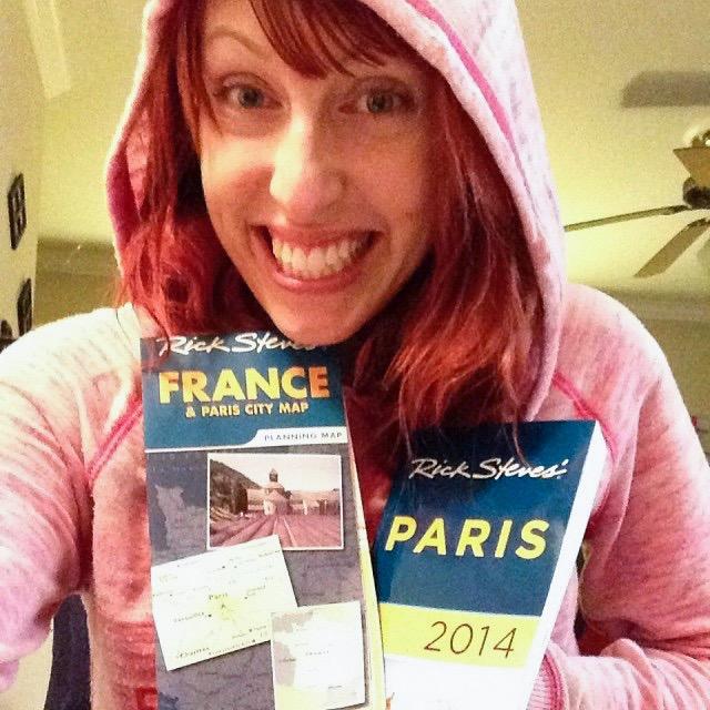 preparing for my dream trip to Paris = total bliss!