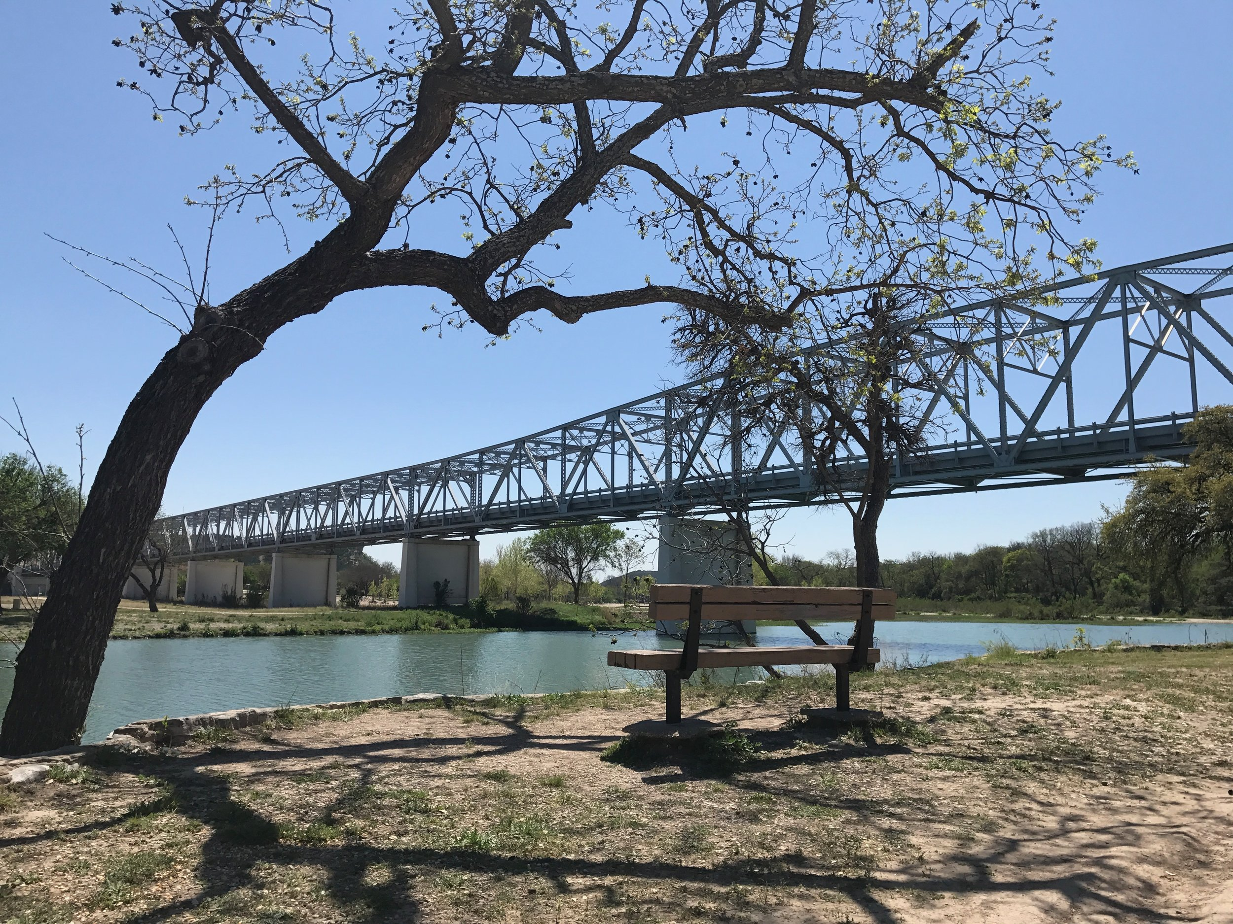 South Llano River in Junction