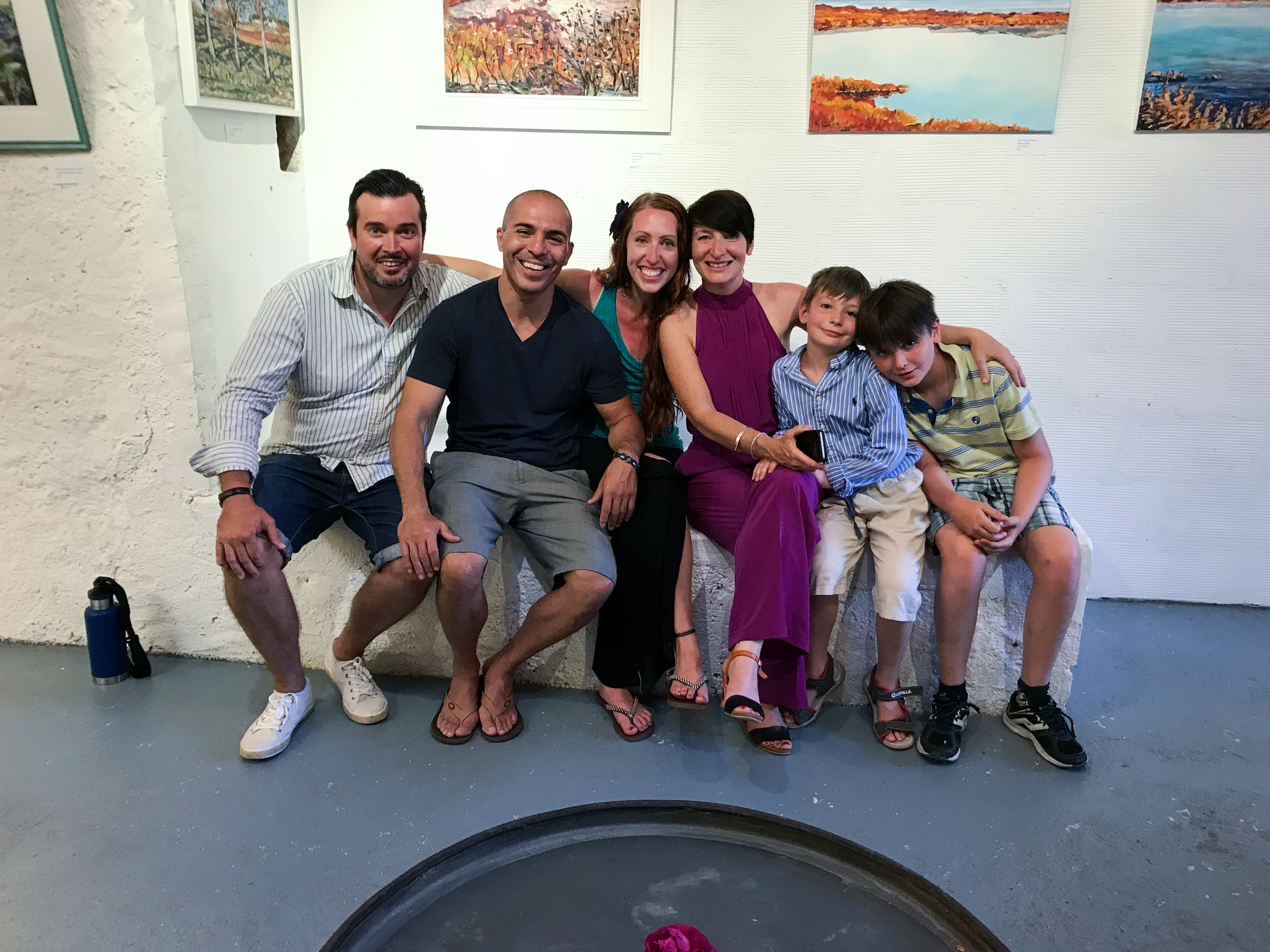 The awesome family at Inspiré Azille