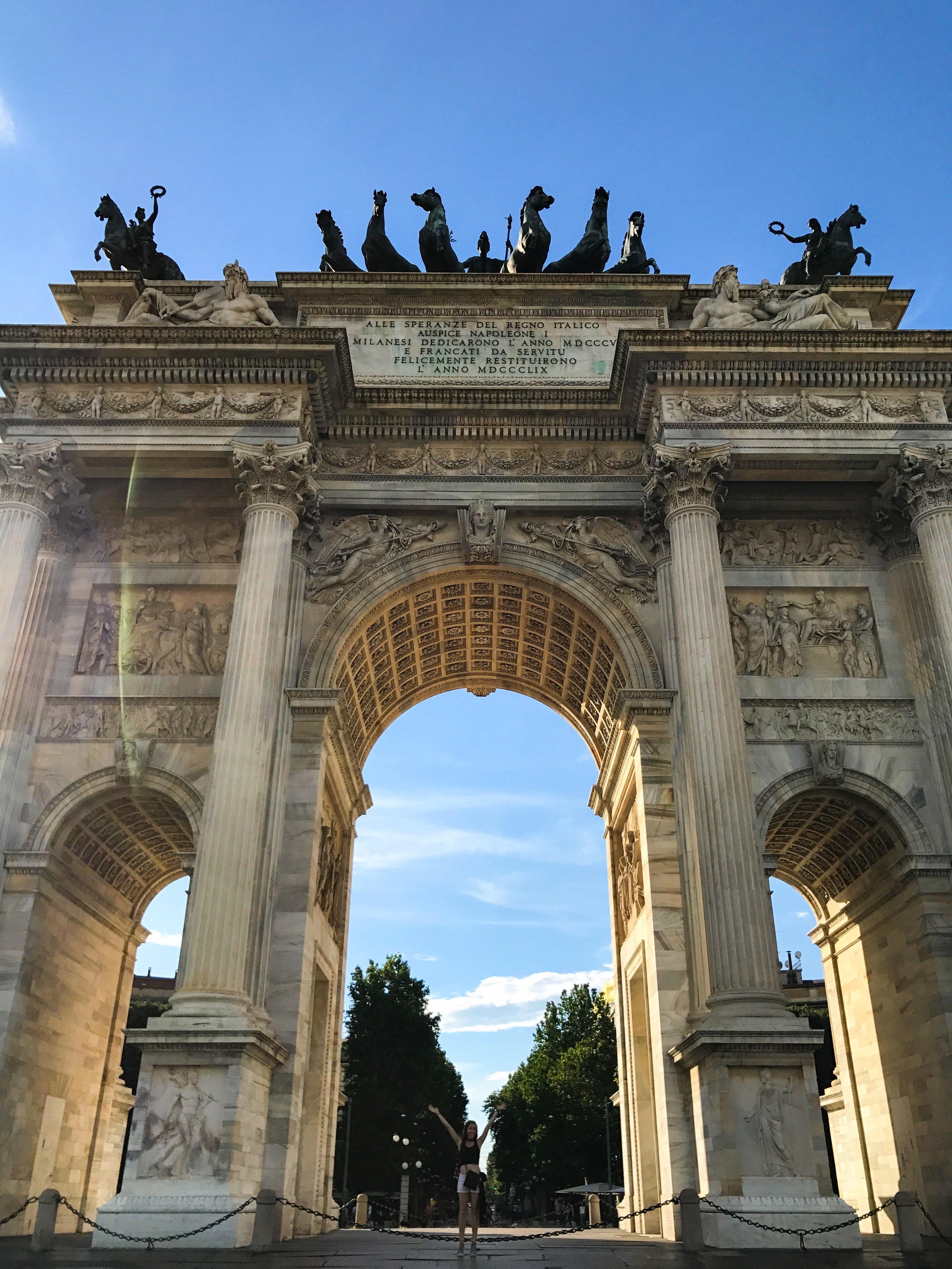 The Arco della Pace