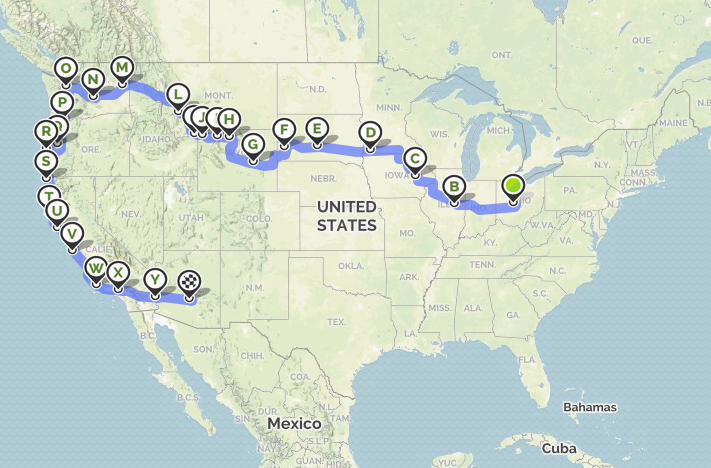 RV Trip from Ohio to Arizona