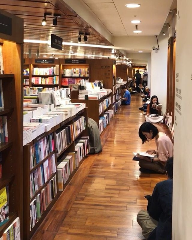 Hi, I'm Nikki and I am a book lover. 📚😝 Books were my first introduction to magic, as they can whisk you away to an imaginary land in a matter of seconds. ✨ Sooo… When I travel, I often seek out cool libraries and bookstores and this one did not disappoint!⁣ ⁣ It's a 24/7 bookstore in Taipei and the vibe is unlike any other bookstore I've been to… Not only is it cool to see books that I've read in English in their Chinese version, but to see so many people sitting in every nook and cranny (even on the floor) to enjoy a good book. I felt at home. 🙏 (Despite the fact that I couldn't actually read most of the books, gotta work on my Chinese! 😂)