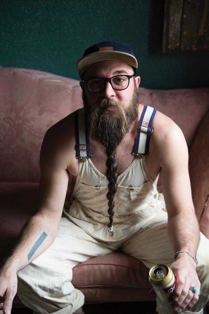 Scott Ackerman   Painter's Beard  Shot by Paul Lowe