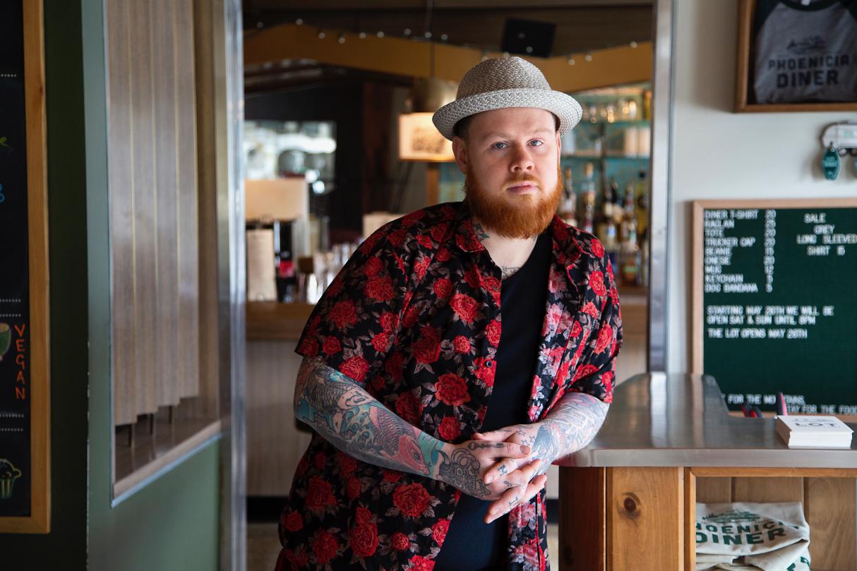 Barman    Brendan Heady  shot by  Paul Lowe