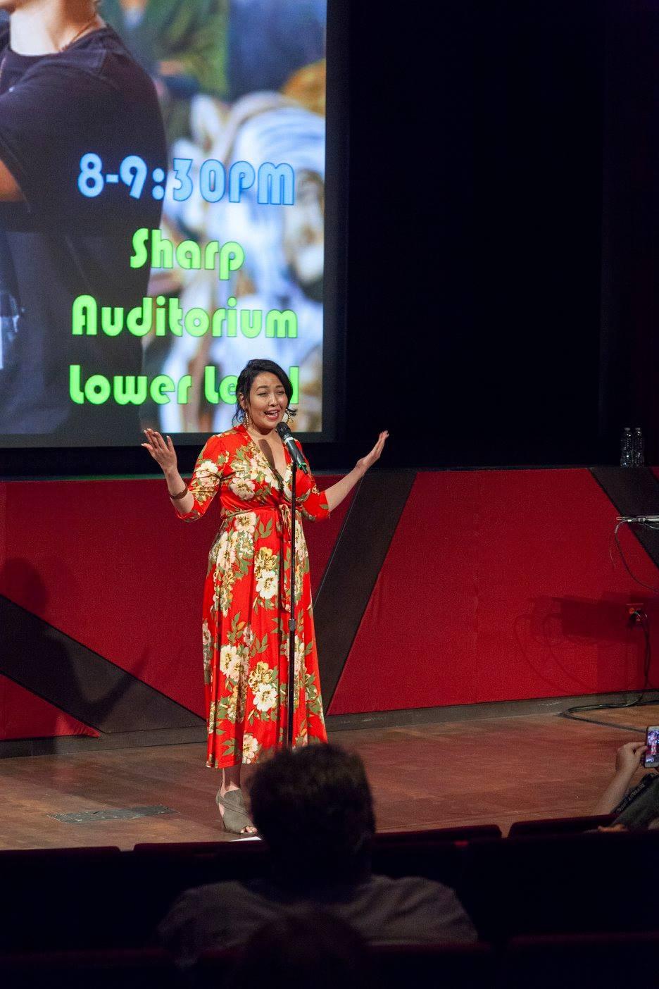 Kimberly performing - untitled spoken word.jpg