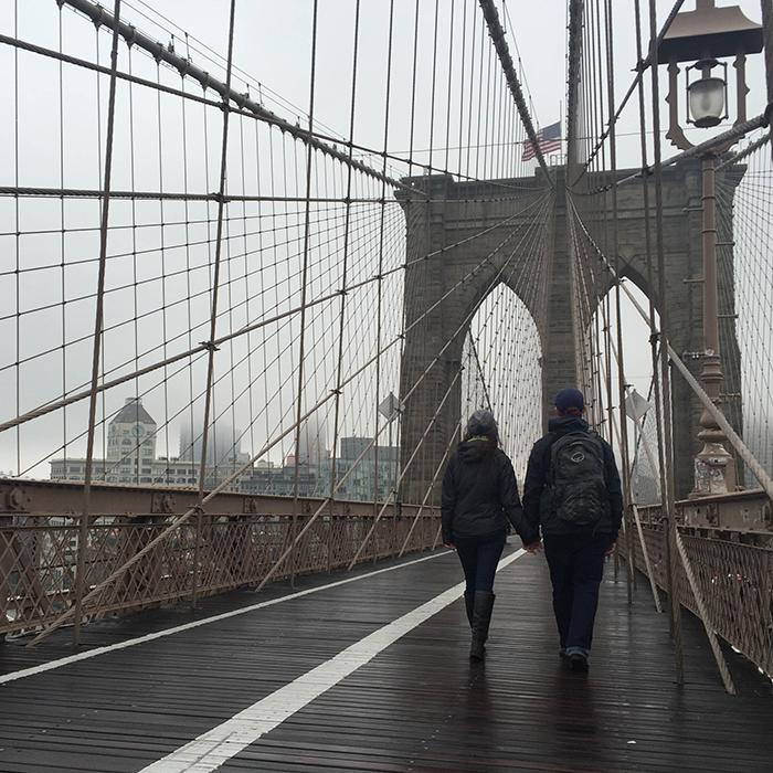 Stroll through the city  —New York