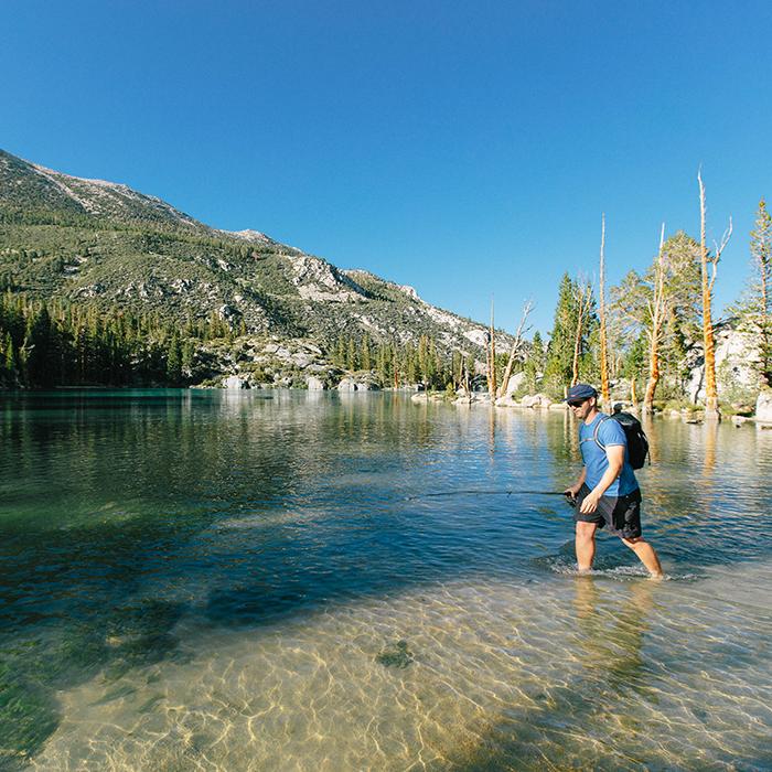 Finding a good spot  —Big Pine