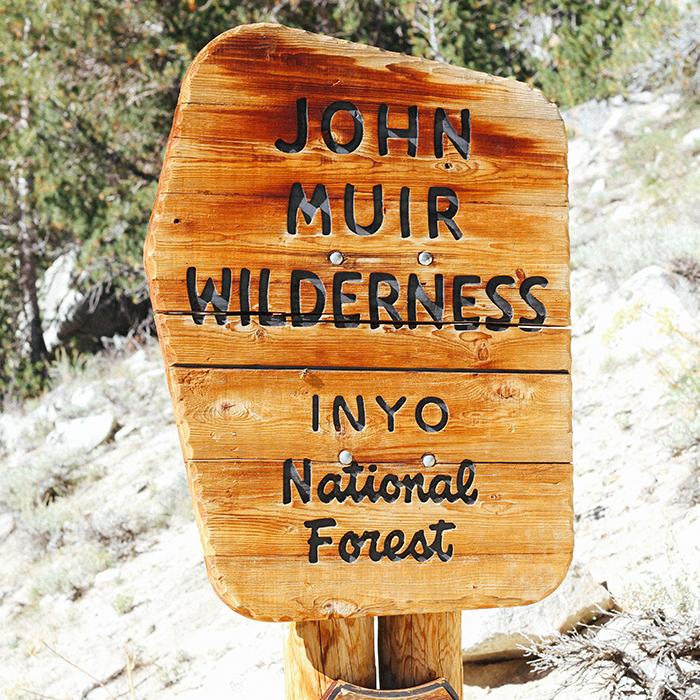 Trekking through the wilderness  —Inyo