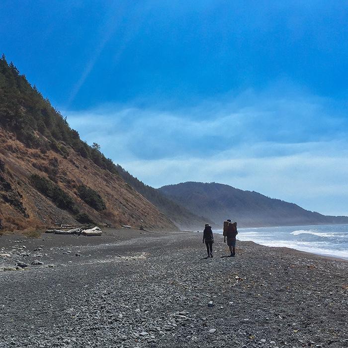 Day five  —Lost Coast Trail