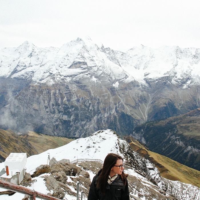 Visiting the Alps  —Switzerland