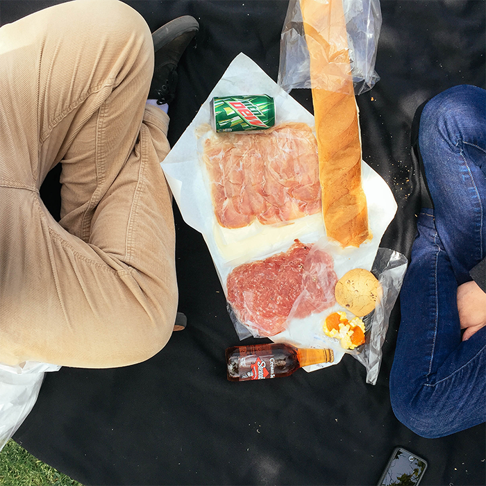 Lunch with Taryn  —The Park