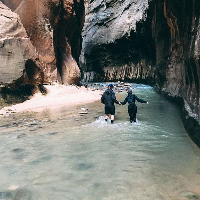 Conquering the Narrows  —Zion