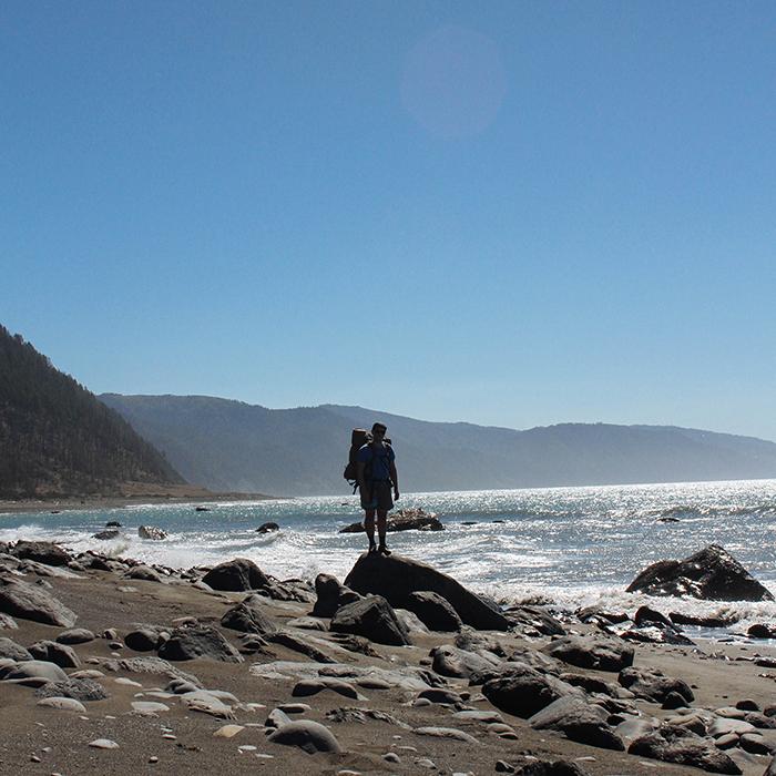 Low tide  —Lost Coast Trail